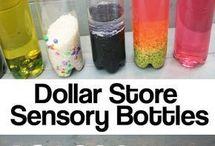 garrafa sensoriais