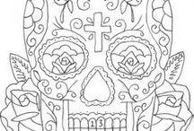 sugar skull pics