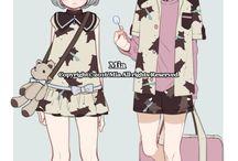 roupas para anime