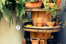 etagere jardin