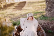 Canoe bridal / Just a model making something happen for herself