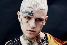 """death / """"People get me, people understand my message is positive and at the end of the day, I'm just here to make music that I enjoy and that other people enjoy. I think that's why I have such a loyal fan base.""""   LIL PEEP  1996-2017"""