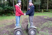 Idea #13: Go Ape forest segway / You can go off exploring the forest on the latest in green technology – a self-balancing electric segway.  From two legs to two wheels – for the ultimate forest segway adventure on a rugged all-terrain Go Ape's popular Segway experience has now landed at ten of our adventures UK wide! I did it at Sherwood Forest, read my review here http://thatideasgirl.com/birthdays/idea-13-go-ape-forest-segway/