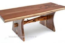 Live Edge Furniture / by Woodland Creek Furniture