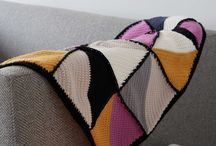 My crochet blanket designs / Crochet Blankets which are Emma Varnam Designs
