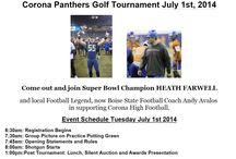 Corona Panthers Football Team