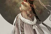 Asian. / Asian myths, ancient Asian fashion, and everything with an old Asian world vibe to inspire to create.