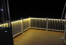 Deck entertainment area