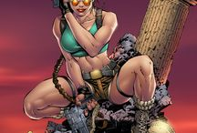 Comic Tomb Raider