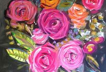 Acrylic paintings beginners