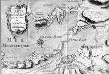 Petites utopies urbaines et maritimes / Classe gravure / Projet : La Seyne port d'attache, cartographie de l'imaginaire.