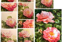 How to paint a rose - How to paint roses