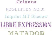 fonts / by Sonrisa Hanna