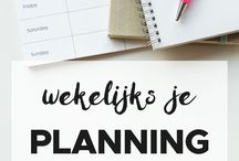 planning en meer tips