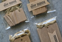 wedding bags & labels