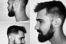 Barbería y cortes masculinos