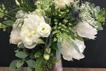 Our wedding flowers / Wedding work we have done at Blooms Glasgow.