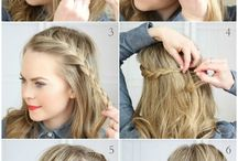 amazing hairstyles quick and easy! Mostly for short hair / I love doing my hair and I thought it would be right to pin hairstyles for short and medium hair my is short so that's why I decided to do it on short hair I hope you enjoy. ! -Diya