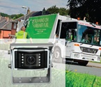 Vehicle Cameras / Vision Techniques vehicle cameras, available for rear, side, front or internal views, can be used for a wide variety of applications.  The range of cameras can be used as reversing cameras or for mobile CCTV digital recording.