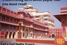 5 INTERESTING FACTS ABOUT JAIPUR / Read blog on  Jaipur  http://letsgoindiatours.blogspot.in/2016/06/5-interesting-facts-about-jaipur-that.html