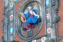Straten & pleinen / Straatgezicht van Dordrecht.