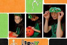 Scrapbook - Halloween / by Kendra Burns