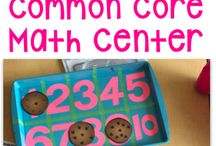 Preschool numeracy ideas