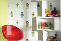 Created for kids / Fun and playful, colourful and exciting... wallpaper and home decorative products