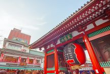 ASAKUSA(浅草) / Asakusa is one of the most popular tourist destinations in Japan. You can enjoy watching temples and shrines and feel the atmosphere of Japanese traditional old town.