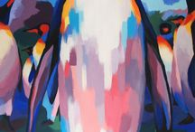 Penguin paintings