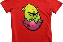 Designer Kids Tshirts / Cool kids tees designed by squeakychimp.com. All tshirts are printed on American Apparel.
