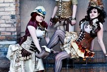 Steampunk outfits / by Merryn Standish-White