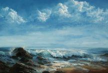 cloud and sea