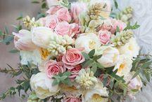 Blomsterarrangemang.