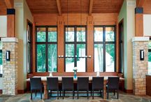Home Spaces: Dining Indoors...