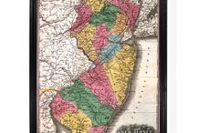 New Jersey Maps + Posters / The biggest collection of New Jersey maps, posters and original illustrations - only at TrueJersey.com!