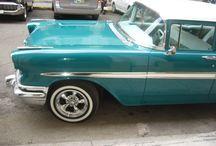Chevy en Cuba / exposicion de autos antiguos en La Habana en 2014