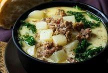 Soup, stews