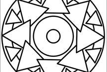 geométrica molde