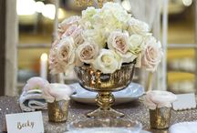 Styleboxe Gold Glamour Wedding Table Decor Set