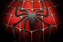 Spider-Man. / aka Peter Parker. / by Derek Horne