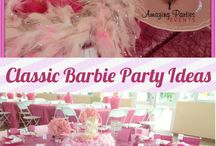 Barbie Party Ideas / Barbie Party Ideas, Barbie Party Decorations, Barbie Party Games & More from our Featured Parties! #barbiepartyideas / by Seshalyn's Party Ideas