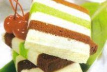 Cake kukus  5warna