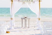 Wedding sea / Playa