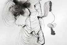 "One Drawing A Day Chases Devil Away / My drawings from the series ""Word""..."