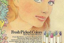 70-е макияж