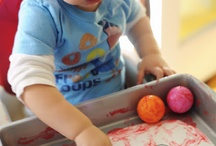 Infant creatives and sensory ideas