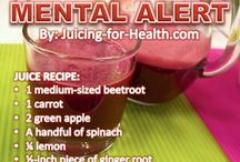 Juicing Recipes / by Emily Hennessey