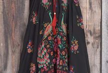 Florales vestidos