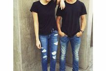 twins couple outfits